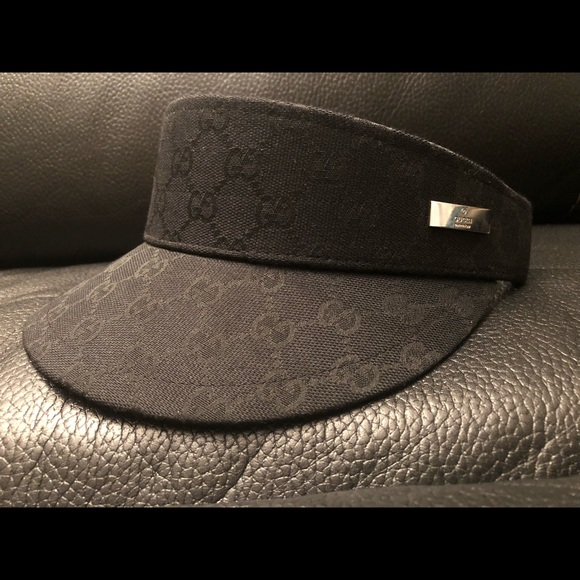 Gucci Other - Monogram unisex visor Gucci hat 5829f6d040e6